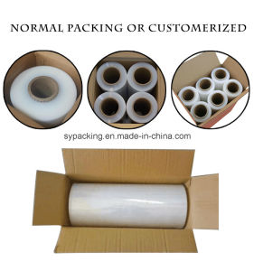Shuangyuan High Transparency LLDPE Streth Protective Film Pallet Wrapper pictures & photos