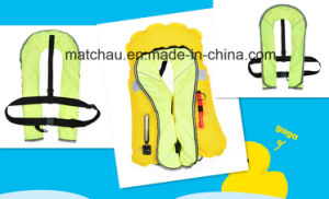 with CCS Ec Certificates Single Air Chamber Inflatable Life Jacket pictures & photos