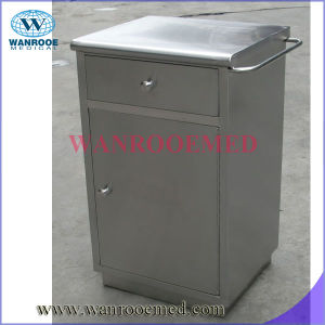 Bc014 Hospital New Design Stainless Steel Frame Bedside Table pictures & photos