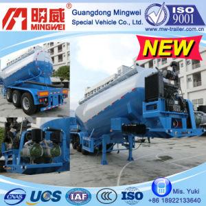 30 Cbm 3 Axles Bulk Cement Tank Semi Trailer (NHG9390GSN, NHG9340GSN)