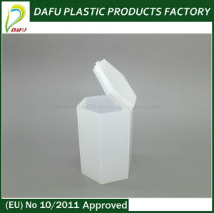 Plastic Products 100ml PE Plastic Hexagonal Bottle with Flip Top Cap pictures & photos