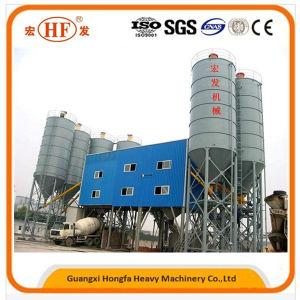 Hzs60 Small Cement Concrete Mix Batching Plant for Sale pictures & photos