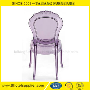 Transparent La Belle Epoque Chair Plastic Chair pictures & photos