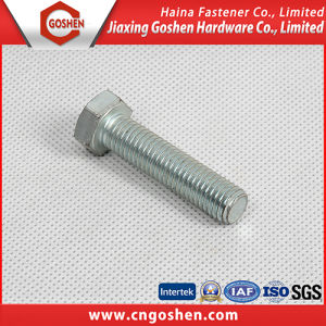 Best Selling DIN 933 Class 10.9 Galvanized Hex Bolt pictures & photos