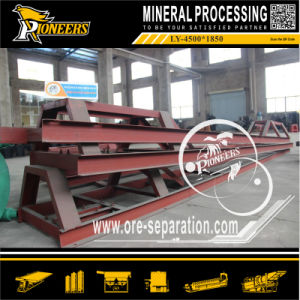 Wholesale Gold Mining Vibrating Separator Gravity Ore Table Concentrator Factory pictures & photos