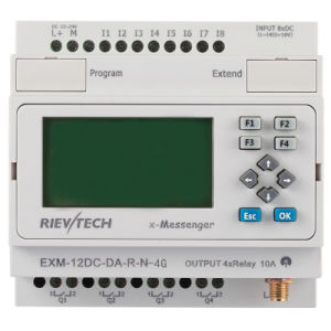 GSM/SMS/GPRS PLC, Ideal Solution for Remote Control& Monitoring &Alarming Applications (EXM-12DC-DA-R-N-4G) pictures & photos
