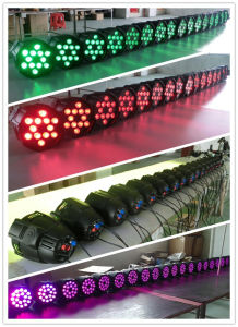 Wall Washer Stage DJ Decoration 18PCS Rgbaw Aliminum LED PAR64 pictures & photos