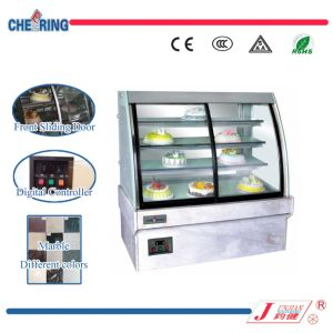 Hight Capacity Front Door Marble Cake Showcase for Bakery Display pictures & photos