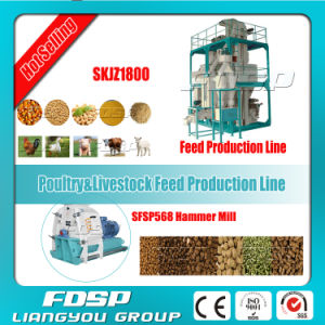 Small Floor Space Chicken / Birds Pellet Feed Set (SKJZ1800) pictures & photos