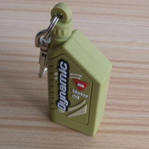 Oil Bottle Deisgn PVC Keychain pictures & photos