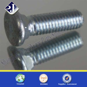DIN603 Zinc Plated Round Head Square Neck Carriage Bolt pictures & photos