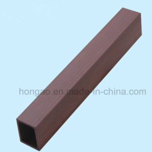Durable and Eco-Friendly 40*40mm Square Tube WPC Indoor Decoration