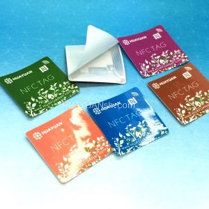Passive RFID NTAG213 Paper NFC Sticker for Promotion pictures & photos