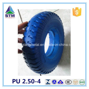 8 Inch PU Polyurethane Wheel 2.50-4 PU Foam Tire pictures & photos