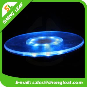 High Quality LED Custom Acrylic Coaster (SLF-LC006) pictures & photos
