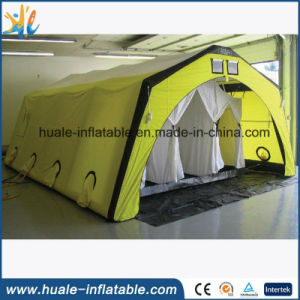 Large Yellow Oxford Cloth Camping Outdoor Folding Inflatable Tent