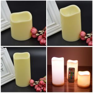 Eco Friendly Electric Flickering Flame LED Candle pictures & photos