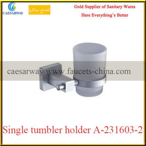 Sanitary Ware Bathroom Accessories All Brass Single Tumbler Holder pictures & photos
