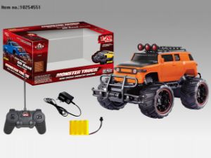 Four Function R/C Car Toys with Big Wheel for Children pictures & photos