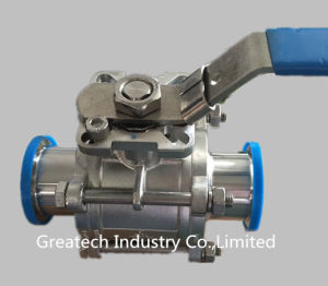 Stainless Steel Ss304 and Ss316L Clamp 3PC Ball Valve
