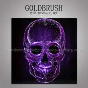 Purple Skulls Aluminum Painting / 3D Wall Decoration pictures & photos