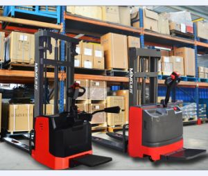 Tb (M) Electric Pallet Stacker with EPS and Armest pictures & photos