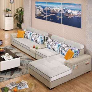 Comfortable Modern 5 Seater Sofa Set pictures & photos