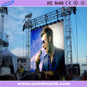 Slim Rental Indoor/Outdoor Full Color LED Video Display Screen Panel Factory Advertising (P3.9, P4.8, P5.68, P6.25 board) pictures & photos
