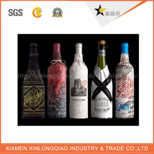 Label Printing Adhesive Deep Color Wine Beverage Bottle Sticker pictures & photos