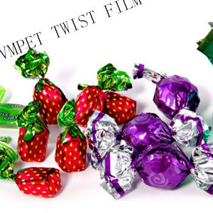 Twistable MPET Film 19mic/23mic for Candy Package pictures & photos