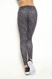 Yoga Pants Fitness Printed Pants Sports Women Tight Leggings (AK15-0025) pictures & photos