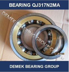 Four Point Angular Contact Ball Bearing Qj317 N2ma pictures & photos