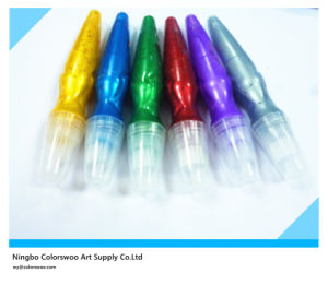5*14ml Metallic Color Tempera Paint with Brush for Students and Kids pictures & photos