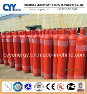 50L Oxygen Nitrogen Lar Acetylene 150bar/200bar Seamless Steel Gas Cylinder pictures & photos