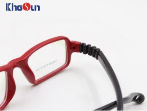 Kid′s Injection Folding Temple Optical Frames pictures & photos