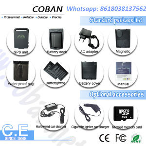 Mini GPS Tracker Tk 102 Micro GPS Tracking Device with Sos Geo-Fence Alarm System pictures & photos