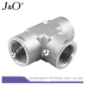 Stainless Steel Thread Swagelok Tee Pipe Fitting pictures & photos