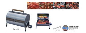 Camping BBQ Gas Grill with Extendable Tube Holder pictures & photos