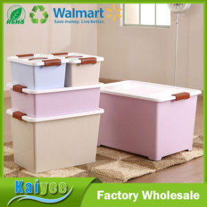 Custom Fashion Different Color Size Plastic Storage Box Finishing Box pictures & photos
