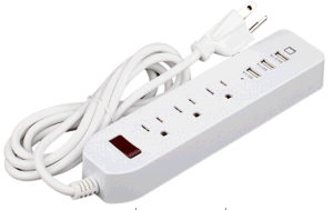 USB Outlet with 3 USB Ports pictures & photos