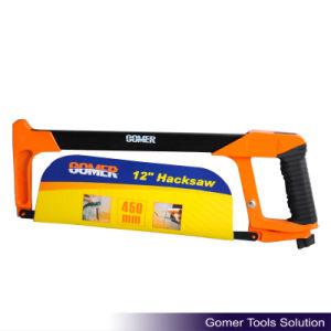Rubber Handle Heavy Duty Aluminium Handle Hot Sale Hacksaw Frame (T09114) pictures & photos