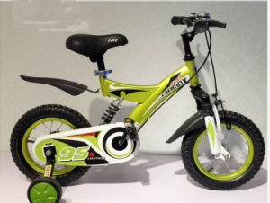 Lightweight Kids Bikes with Four Wheel Bike/New Frame Design Child Bicycle with Carrier/12 Inch Baby Bicycle with Cartoon Images pictures & photos