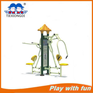 Double Push Chair Galvanized Outdoor Gym Equipment pictures & photos