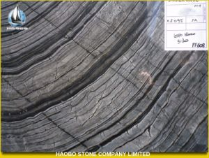Antique Wood Marble, Black and White Marble pictures & photos
