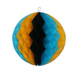 Colorful Paper Honeycomb Decoration