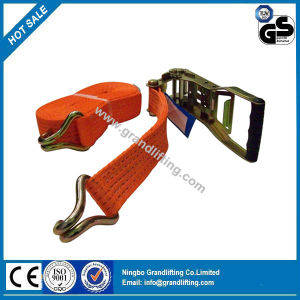 High Strengh 50mm 5t GS Certified Cargo Restraints Ratchet Lashing pictures & photos