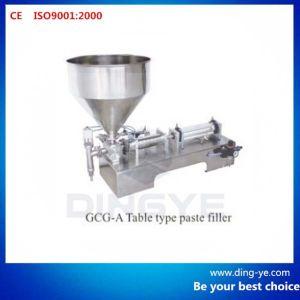 Semi-Auto Paste Filling Machine (GCG-A) pictures & photos