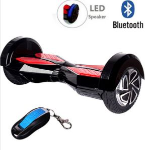 8 Inch Two Wheel Smart Portable Hoverboard Self Balancing E-Scooter with Bluetooth