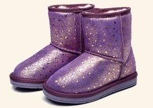 New Design Warm Flat Children Boots (TX 43)