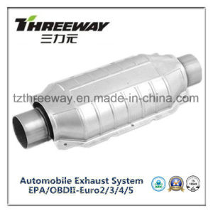 Car Exhaust System Three-Way Catalytic Converter #Twcat032 pictures & photos